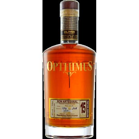 Opthimus Rhum Vieux 15 ans 38° 70 cl République Dominicaine