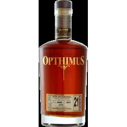 Opthimus Rhum Vieux 21 ans 38° 70 cl République Dominicaine