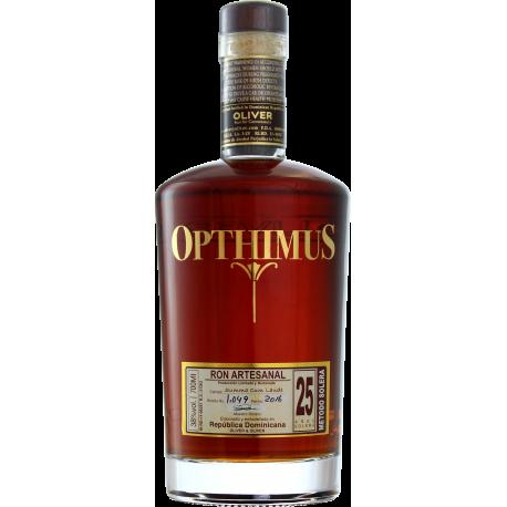 Opthimus Rhum Vieux 25 étui 38° 70 cl République Dominicaine