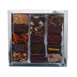Lauzea chocolats 15 pieces 150 g