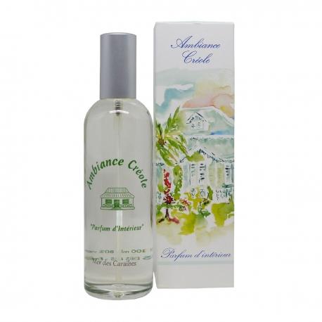 Parfums des îles parfum d'intérieur ambiance créole mer des Caraïbes spary 100ml