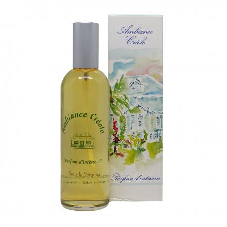 Parfums des îles parfum d'intérieur ambiance créole sous la véranda spray 100ml