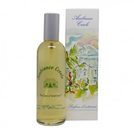 Parfums des îles parfum d'intérieur ambiance créole thé aux épices spray 100ml