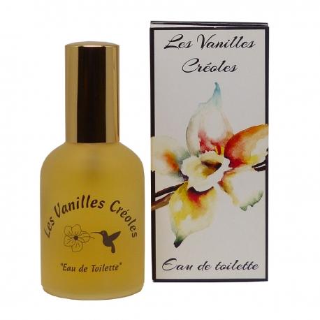 Parfums des îles eau de toilette vanilles créoles vanille coco 50ml