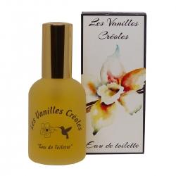 Parfums des îles eau de toilette vanilles créoles vanille des iles 50ml