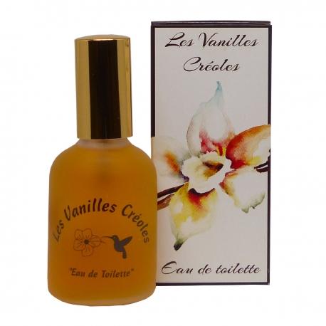 Parfums des îles eau de toilette vanilles créoles vanille tiare 50ml