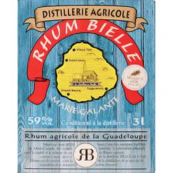 Bielle Rhum Blanc 59° cubi 3L Marie Galante