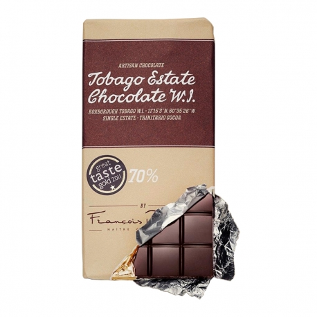 Tobago Cocoa estate Chocolate bar Tablette dark 70% 100 g