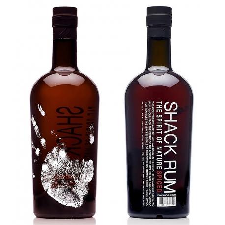 Shack rum Rhum Épicé 40° 70 cl Caraïbes