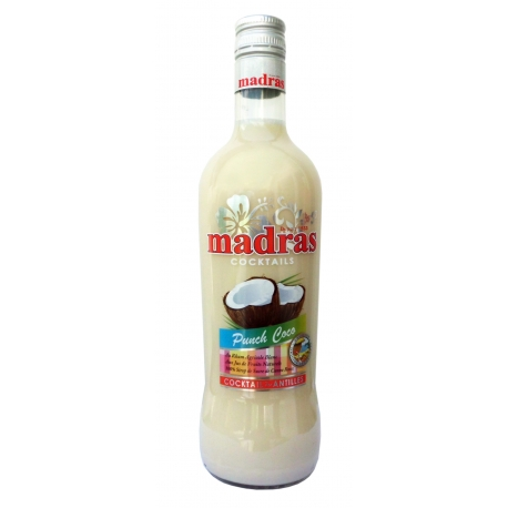 Madras Punch coco 18° 70 cl Guadeloupe