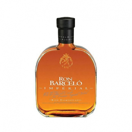 Barcelo Rhum Vieux Imperial premium blend 30 ans carafe boite 43° 70 cl République Dominicaine