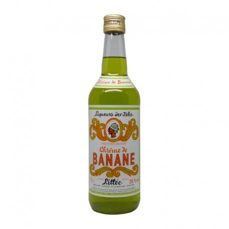 Littee Crème de Banane 25° 70 cl Guadeloupe