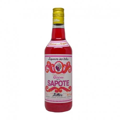 Littée Crème de Sapote 25° 70 cl Guadeloupe
