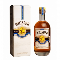 Whisper Rhum ambré Antigua gold rum 40° 70 cl Antigue