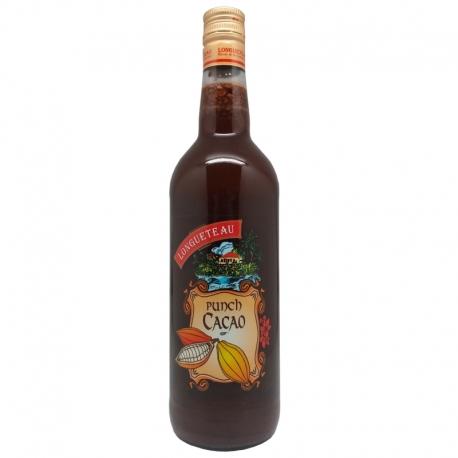 Longueteau Punch cacao 25° 1L Guadeloupe