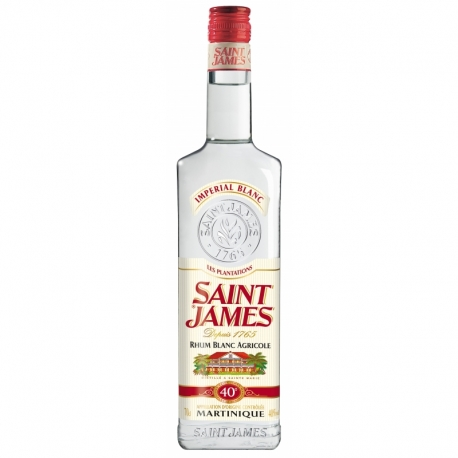 St james Rhum Blanc 40° 70 cl imperial Martinique