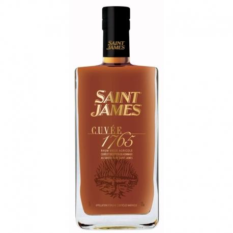 St james Rhum Vieux cuvée 1765 42° 70 cl Martinique