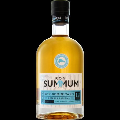 Summum Rhum Vieux 12 ans res. esp. solera 38° 70 cl République Dominicaine