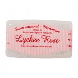 Parfums des îles savon au Lychee rose 100g