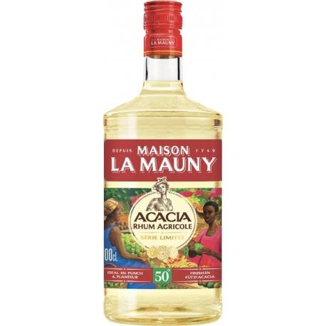 La mauny Rhum Blanc Acacia 50° 1L Martinique