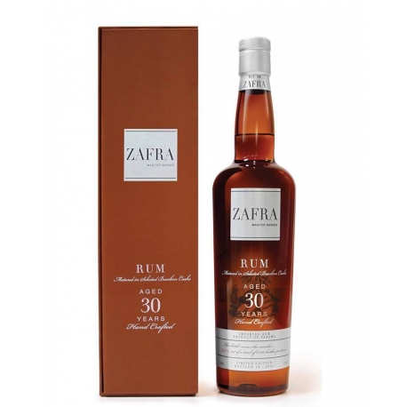 Zafra Rhum Vieux Master Series 30 edition limitée 40° 70cl Panama