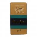 Pralus tablette de chocolat cuba 75% 100 g