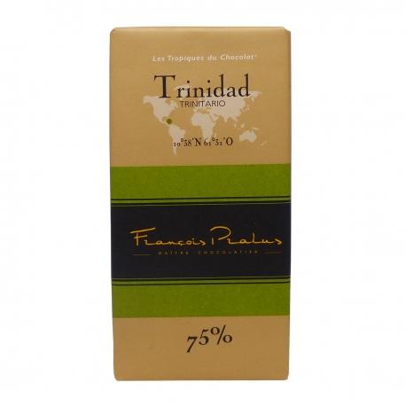 Pralus tablette de chocolat trinidad 75% 100 g