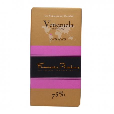 Pralus tablette de chocolat venezuela 75% 100 g