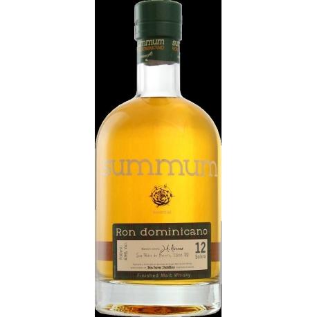 Summum Rhum Vieux 12 ans finition malt whisky solera 43° 70 cl République Dominicaine
