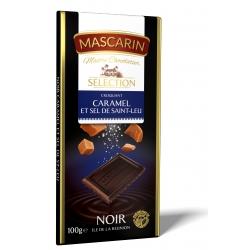 Mascarin tablette chocolat noir caramel sel 100 g