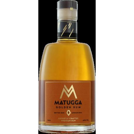 Matugga Rhum ambré golden rum 42° 70 cl Royaume-Uni