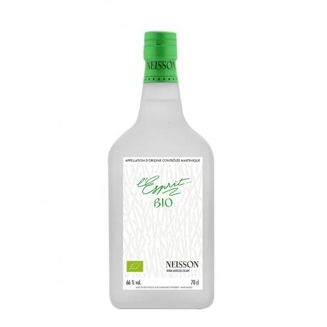 Neisson Rhum blanc L'Esprit Bio étui 66° 70 cl Martinique