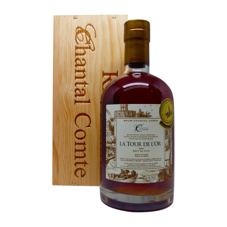 Chantal Comte Rhum Vieux La Tour de l'Or 2001 64,8° 70cl Martinique