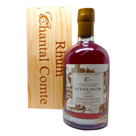 Chantal Comte Rhum Vieux La Tour de l'Or 2006 57,7° 70cl Martinique