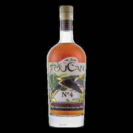 Toucan Rhum Epicé N° 4  avec étui 40° 70cl Guyane