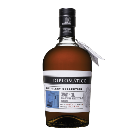 Diplomatico distillery Collection N° 1 batch Kettle rum 70cl 47° Venezuela