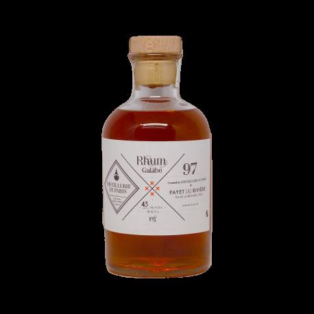 Distillerie de Paris Rhum Ambré Galabé 43° 50 cl Réunion