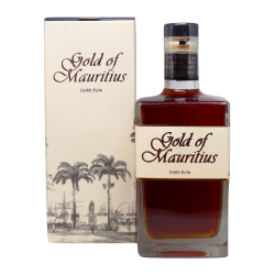 Gold of Mauritius Rhum Vieux 40° 70 cl Île Maurice