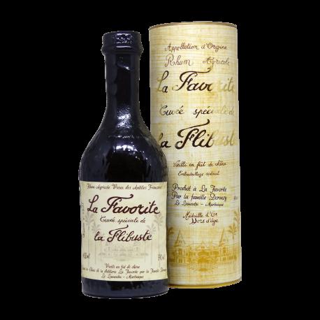 Favorite Rhum Vieux Cuvée de la Flibuste 1987 25 ans canister 40° 70 cl Martinique
