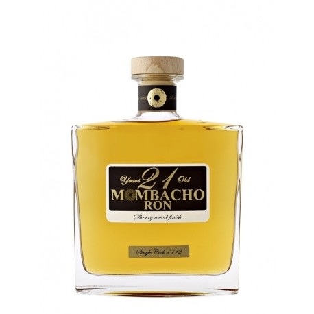 Mombacho Rhum Vieux 21 ans finition sherry carafe étui 43° 70 cl Nicaragua