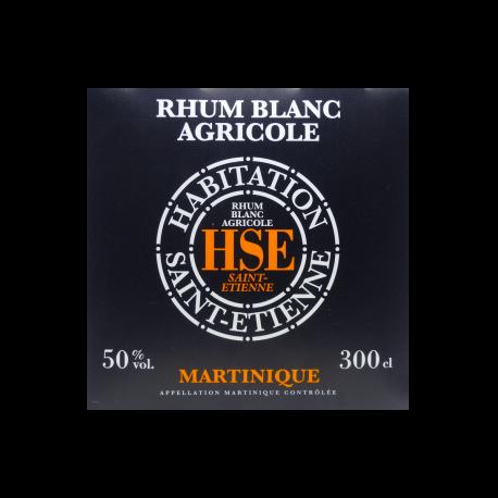 HSE Rhum Blanc 50° cubi 3L Martinique