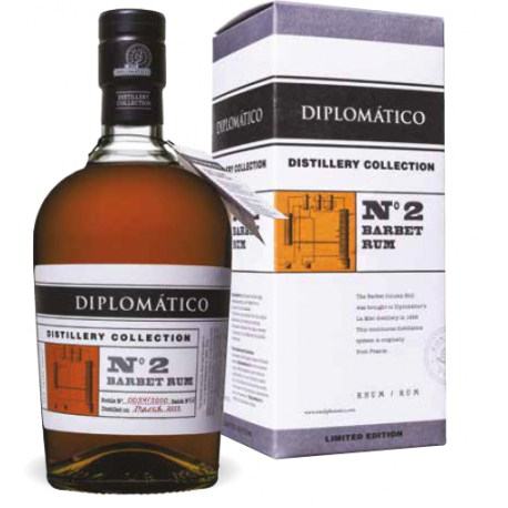 Diplomatico Rhum Vieux Distillery Collection N° 2 Barbet Rum 47° 70 cl Venezuela