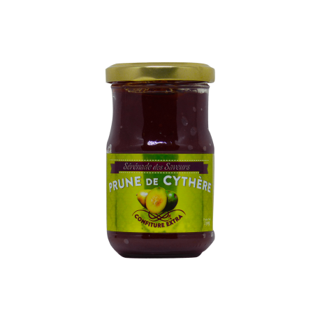Sérénade des Saveurs confiture prune cythère  230g