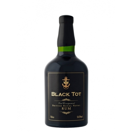 Black tot Rhum Vieux royal navy coffret 54,3° 70 cl