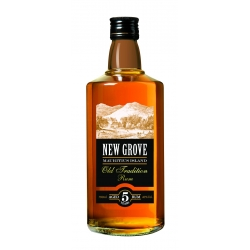 New grove Rhum Vieux 5 ans old tradition 40° 70 cl Île Maurice