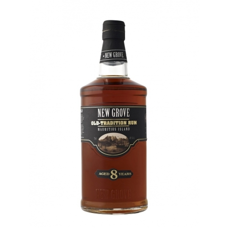 New grove Rhum Vieux 8 ans old tradition 40° 70 cl Île Maurice