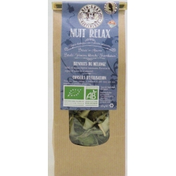 Bio Leaf Tisane Nuit Relax Bio vrac sachet 20 g