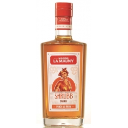 La Mauny Liqueur Shrubb Orange 30° 70 cl Martinique