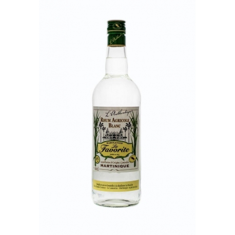Favorite Rhum Blanc I authentique 50° 1L Martinique