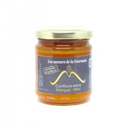 Saveurs de la Fournaise confiture mangue-miel 220 g